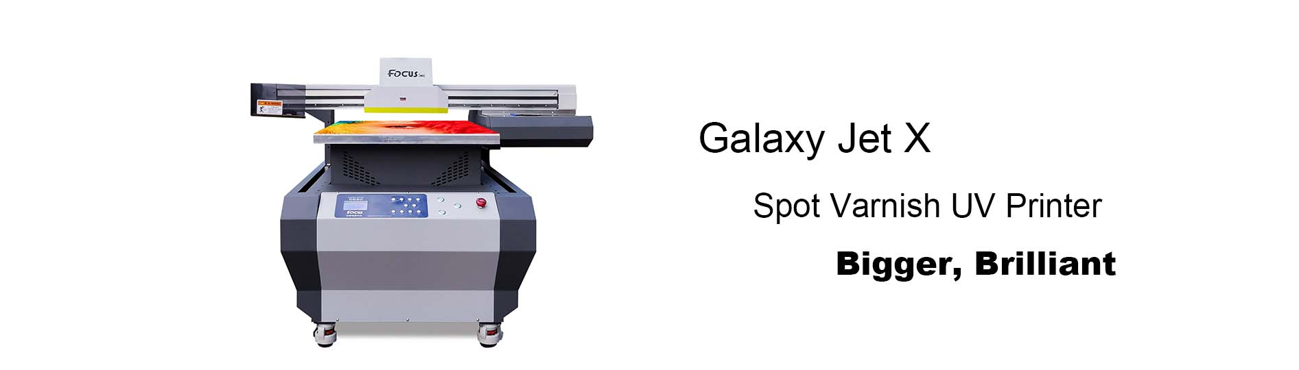 Galaxy-Jet X Spot uv flatbed printer
